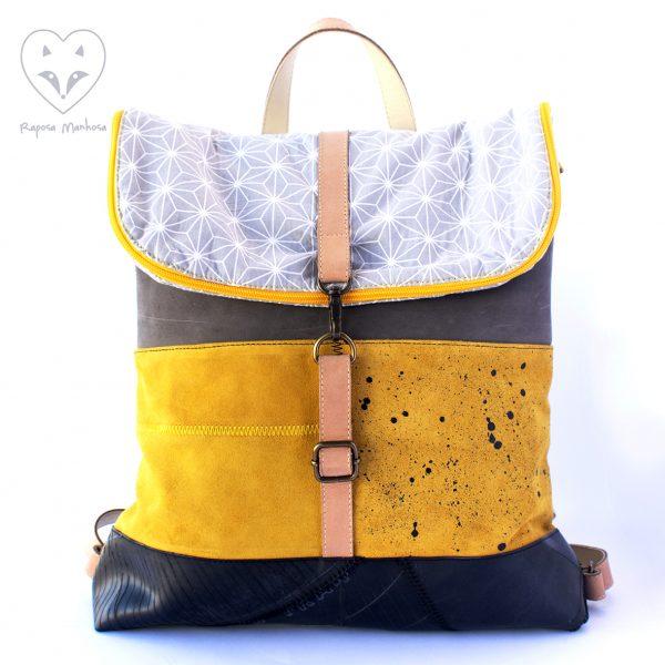 Bolsas, mochilas e acessórios sustentáveis