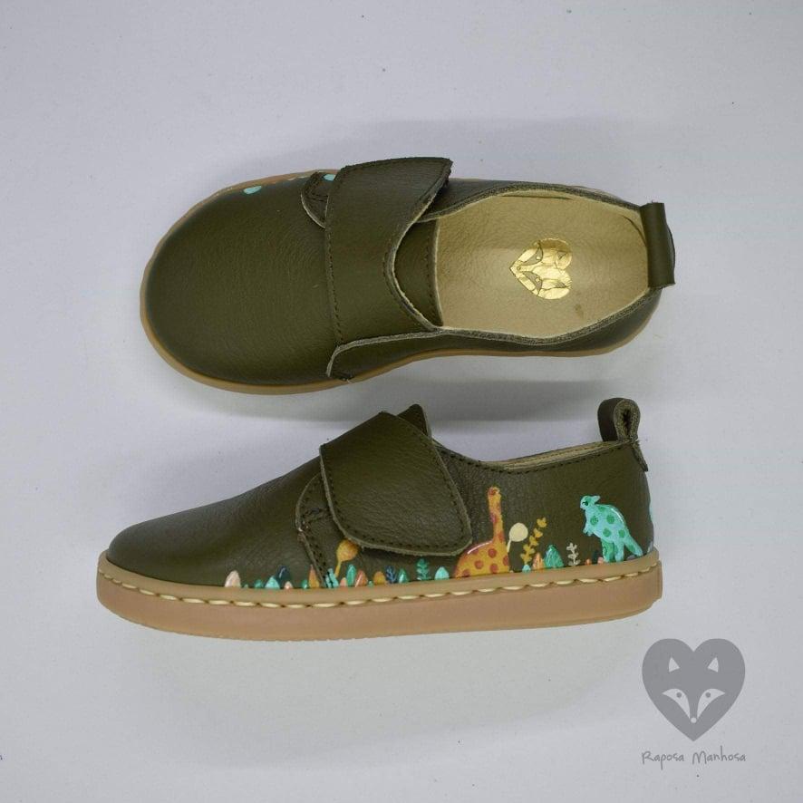 Sapatos/ Botas com ilustração manual